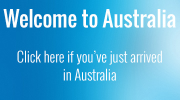 Welcome to Australia