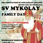Ukrainians in Geelong family day with visit from St Nicholas