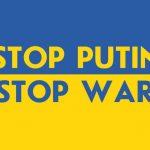 АКЦІЯ – STOP  PUTIN – STOP WAR