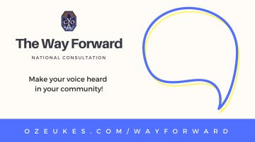 Shape the future of your community! The Way Forward Consultation