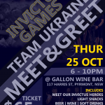 Team Ukraine Meet & Greet |  Зустріч з командою Україна